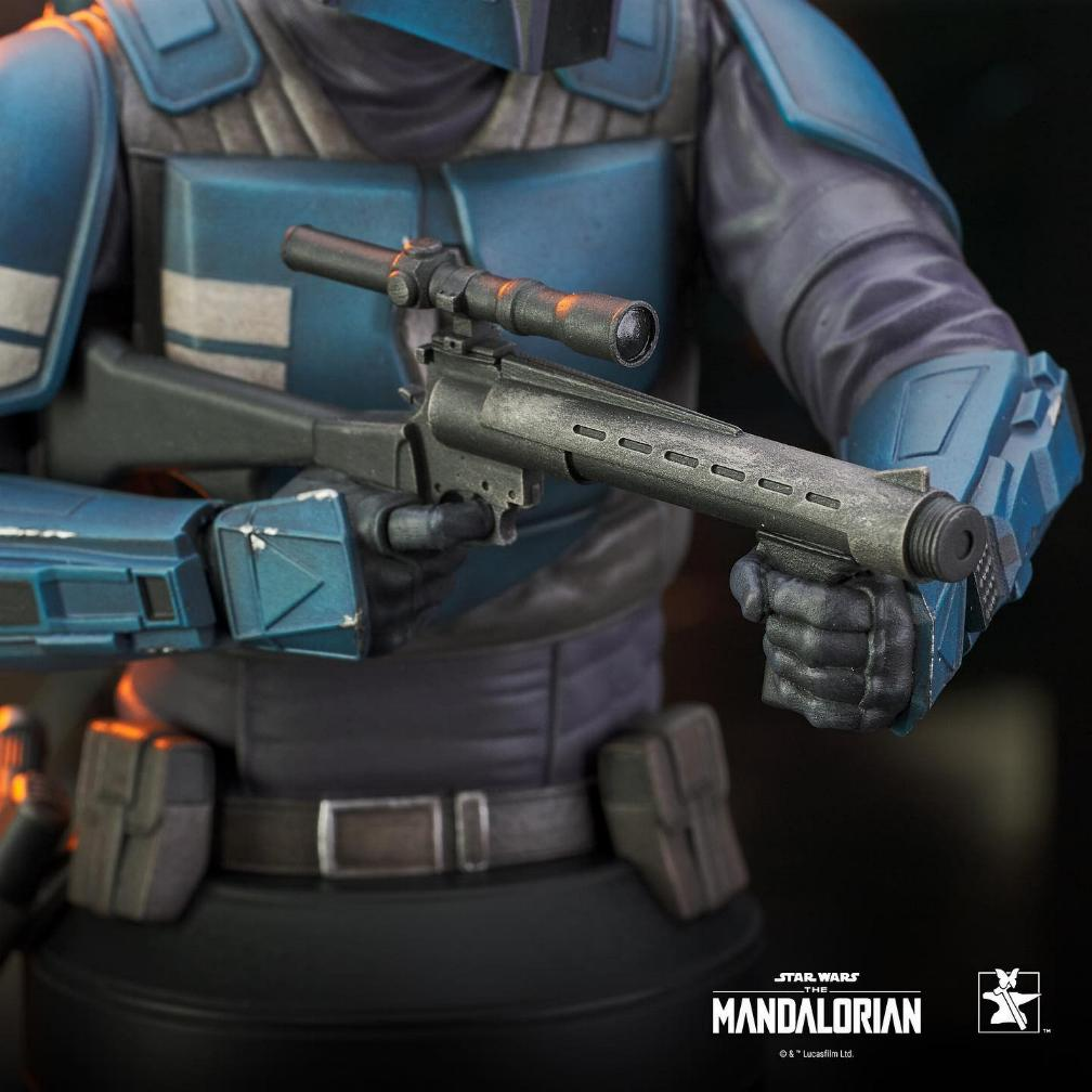 Death Watch Mini Bust - The Mandalorian - Gentle Giant Death_35