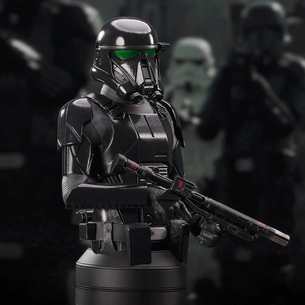 Death Trooper Mini Bust - Mandalorian Gentle Giant Death_37