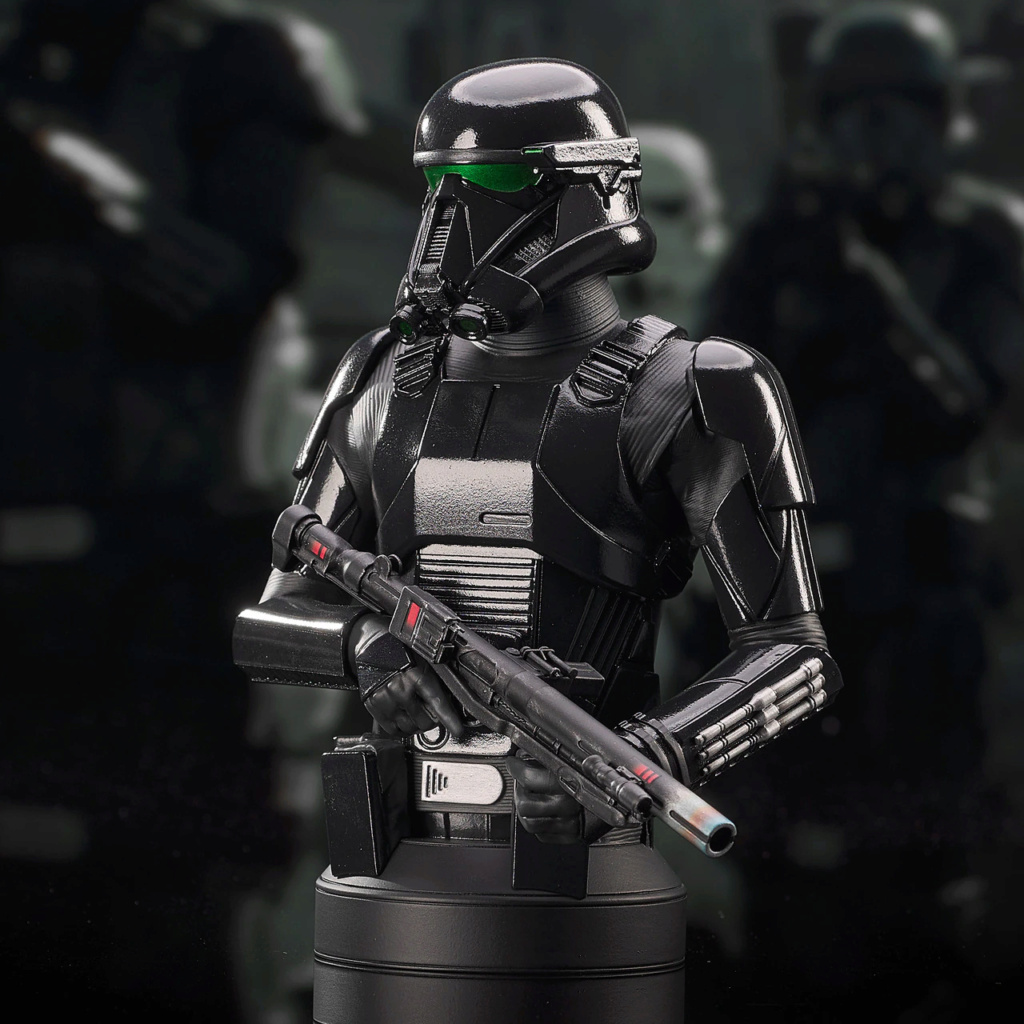 Death Trooper Mini Bust - Mandalorian Gentle Giant Death_38