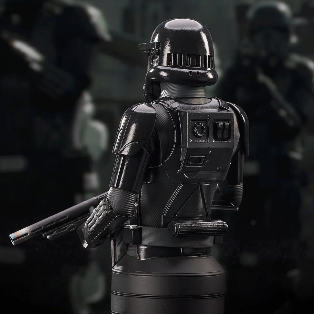 Death Trooper Mini Bust - Mandalorian Gentle Giant Death_39