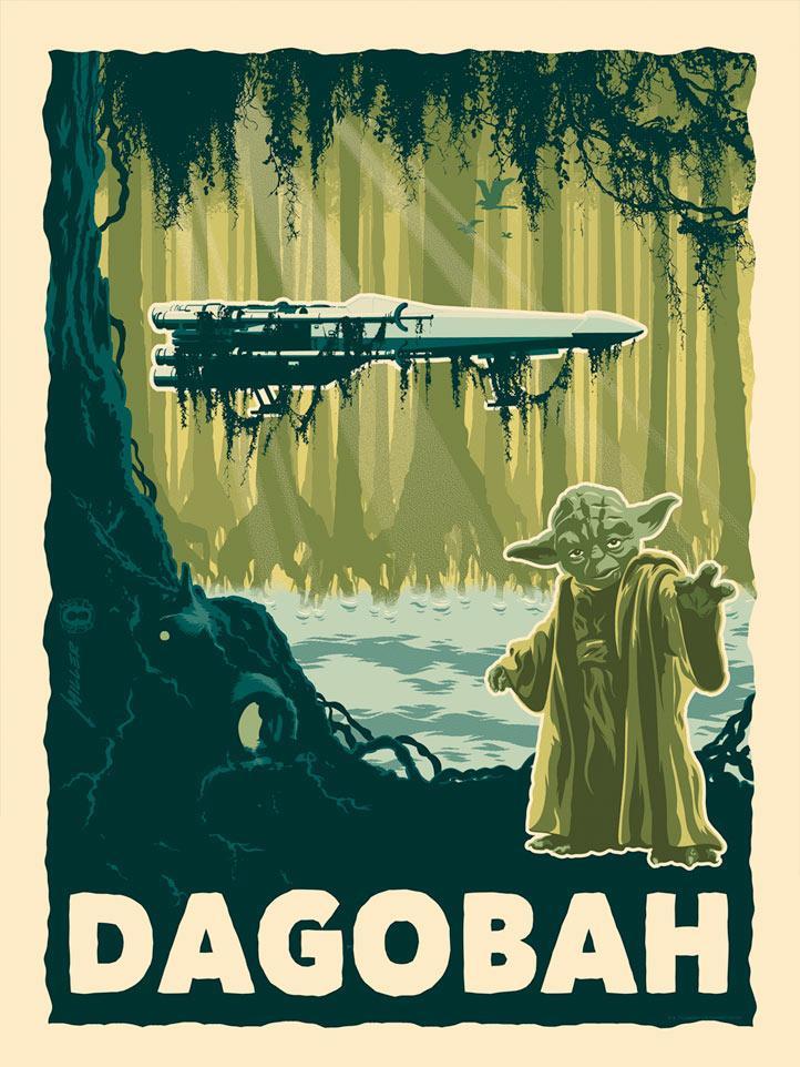 Destination Dagobah - Star Wars - Dark Ink Destin10