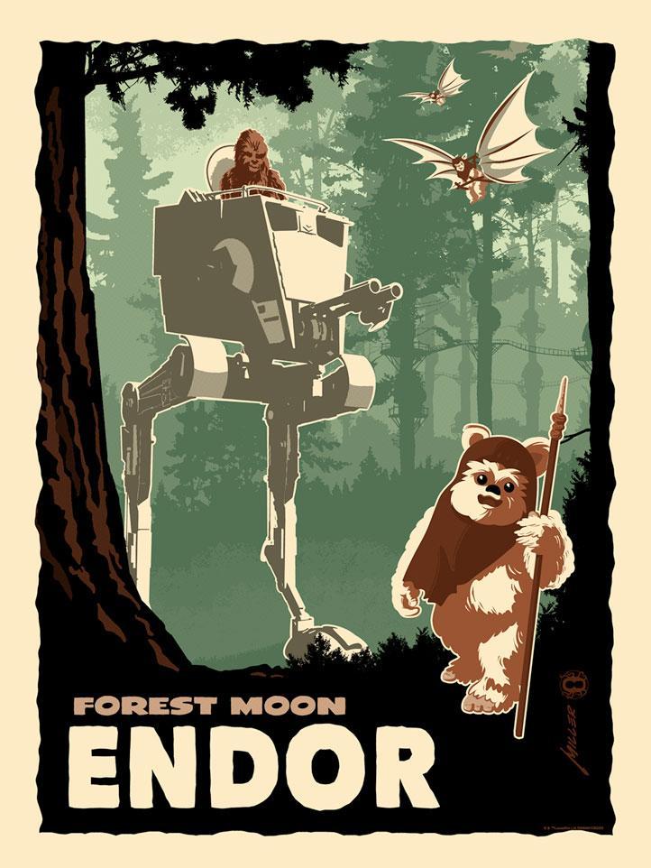 Destination Endor - Star Wars - Dark Ink Destin11