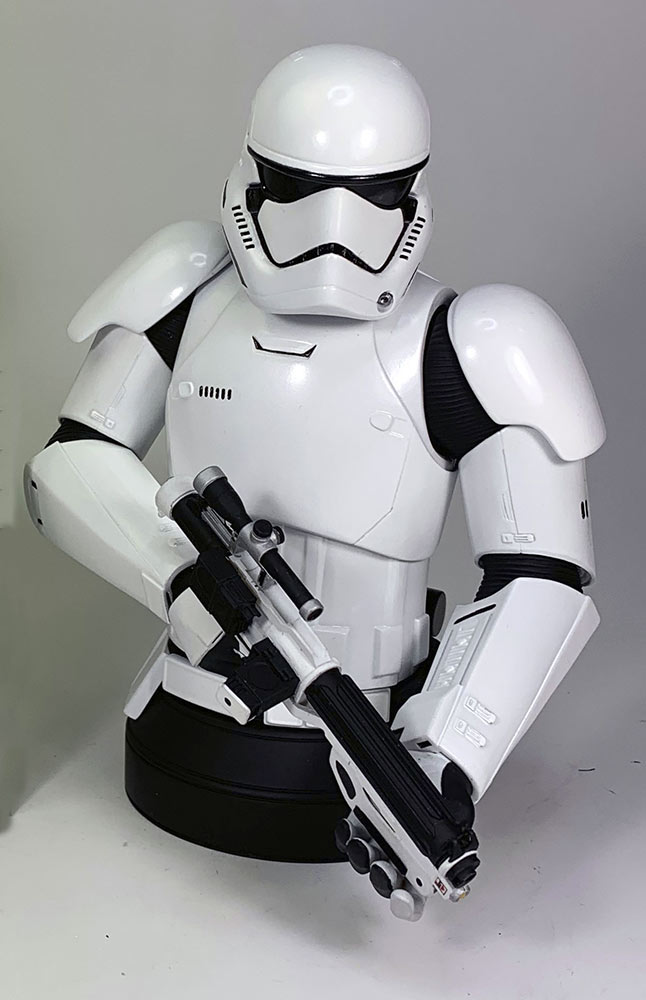 First Order Stormtrooper Deluxe Mini-Bust - Celebration 2020 Diamon10