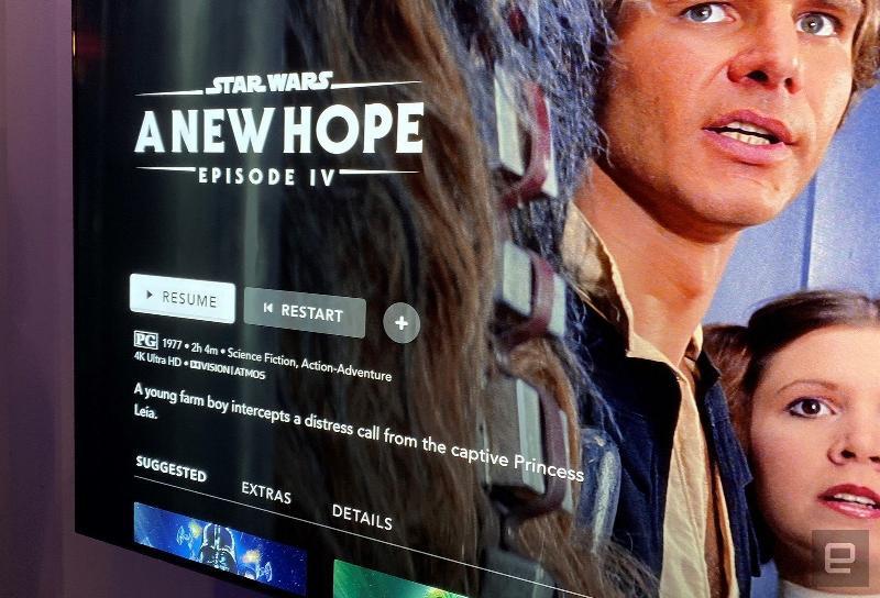 Coffret complet de la saga Star Wars en Blu-ray/4K UHD Dims10