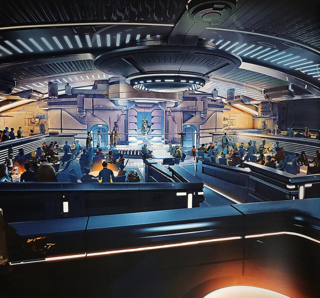 Star Wars Hotel - Disney Hollywood Studios Diner-10