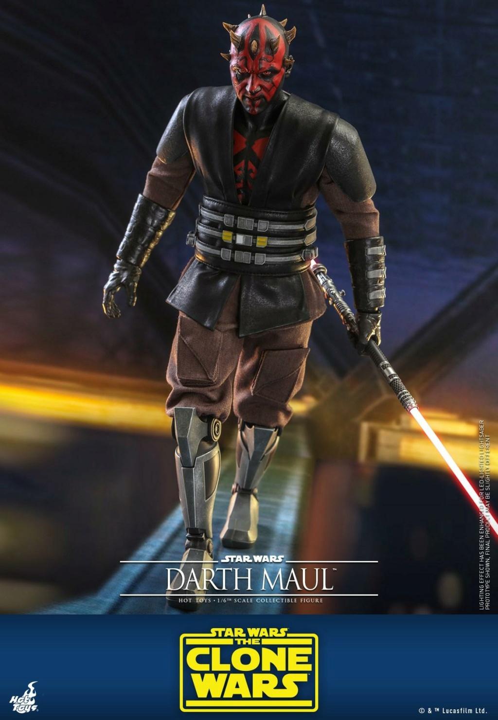 Darth Maul 1/6th scale Figure - The Clone Wars - Hot Toys Dm_tcw10