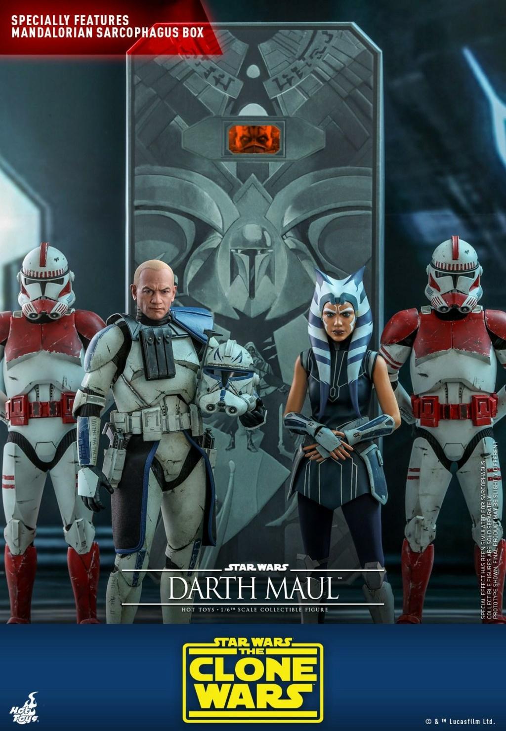 Darth Maul 1/6th scale Figure - The Clone Wars - Hot Toys Dm_tcw12