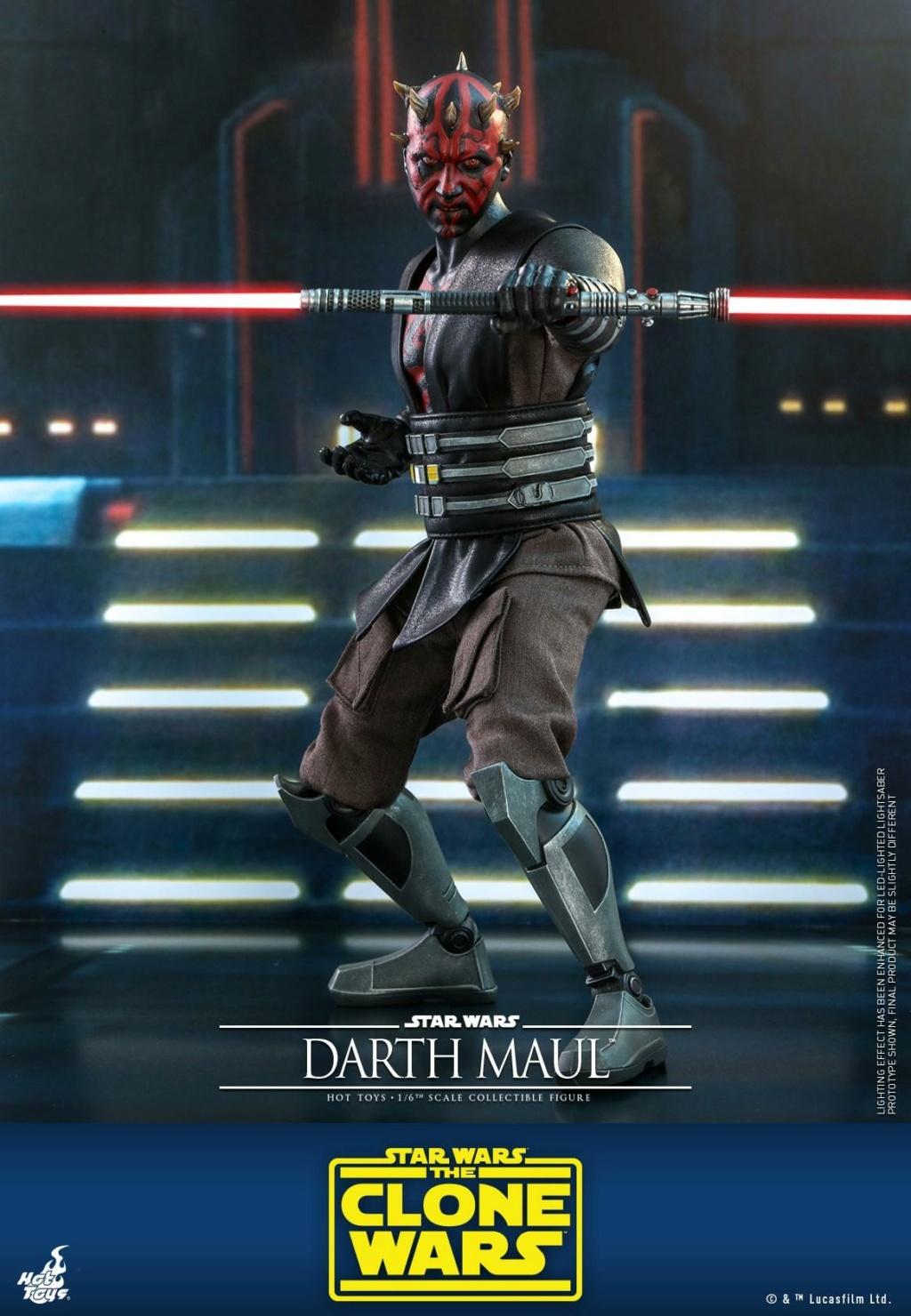 Darth Maul 1/6th scale Figure - The Clone Wars - Hot Toys Dm_tcw13