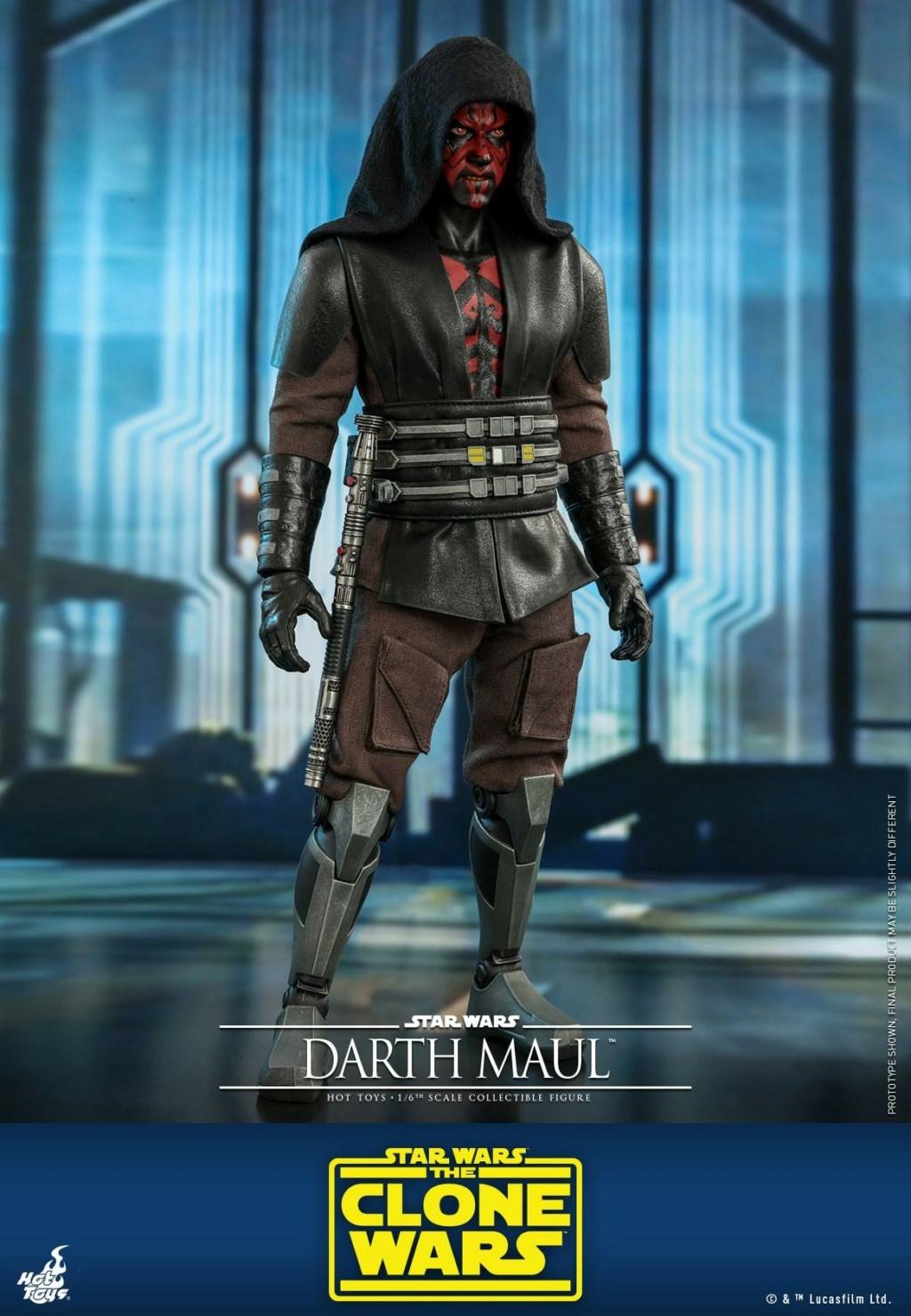 Darth Maul 1/6th scale Figure - The Clone Wars - Hot Toys Dm_tcw14