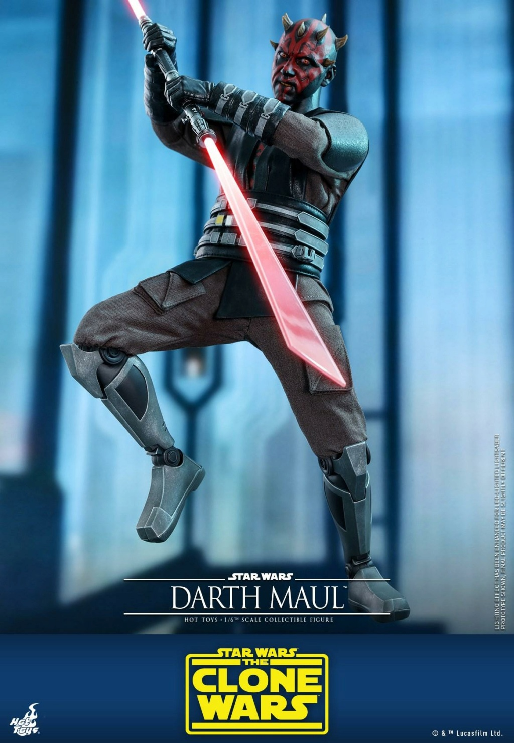 Darth Maul 1/6th scale Figure - The Clone Wars - Hot Toys Dm_tcw17