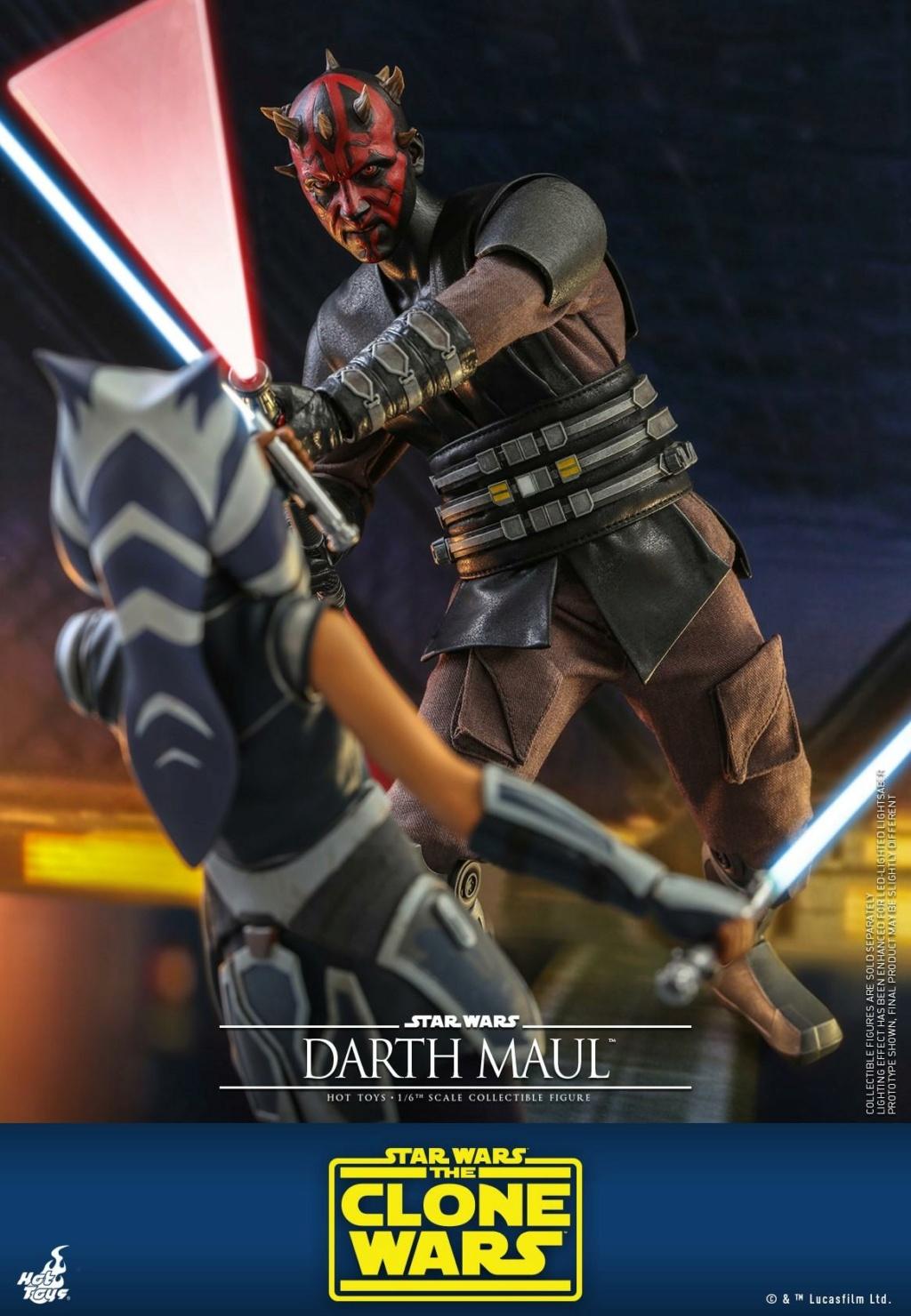Darth Maul 1/6th scale Figure - The Clone Wars - Hot Toys Dm_tcw18