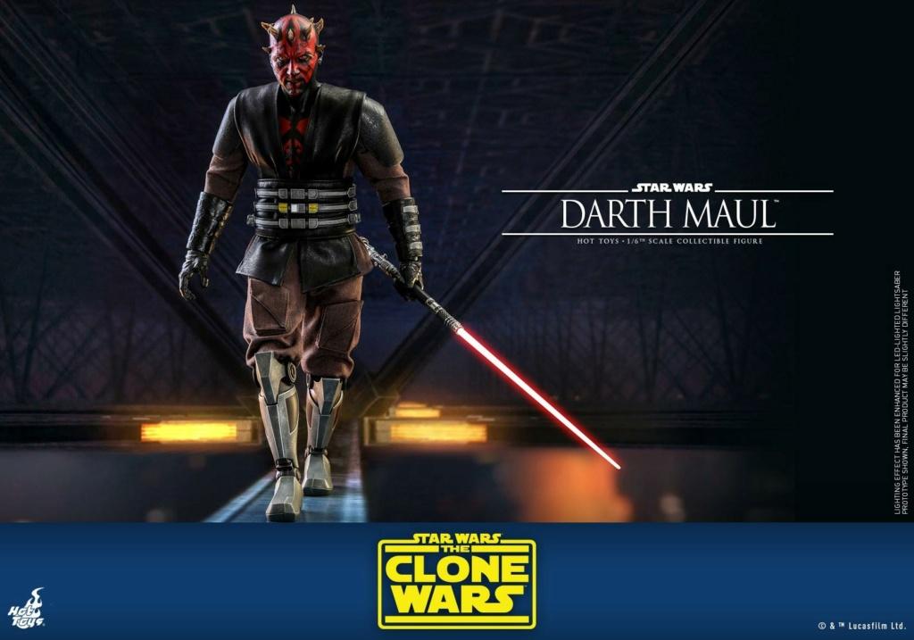 Darth Maul 1/6th scale Figure - The Clone Wars - Hot Toys Dm_tcw20