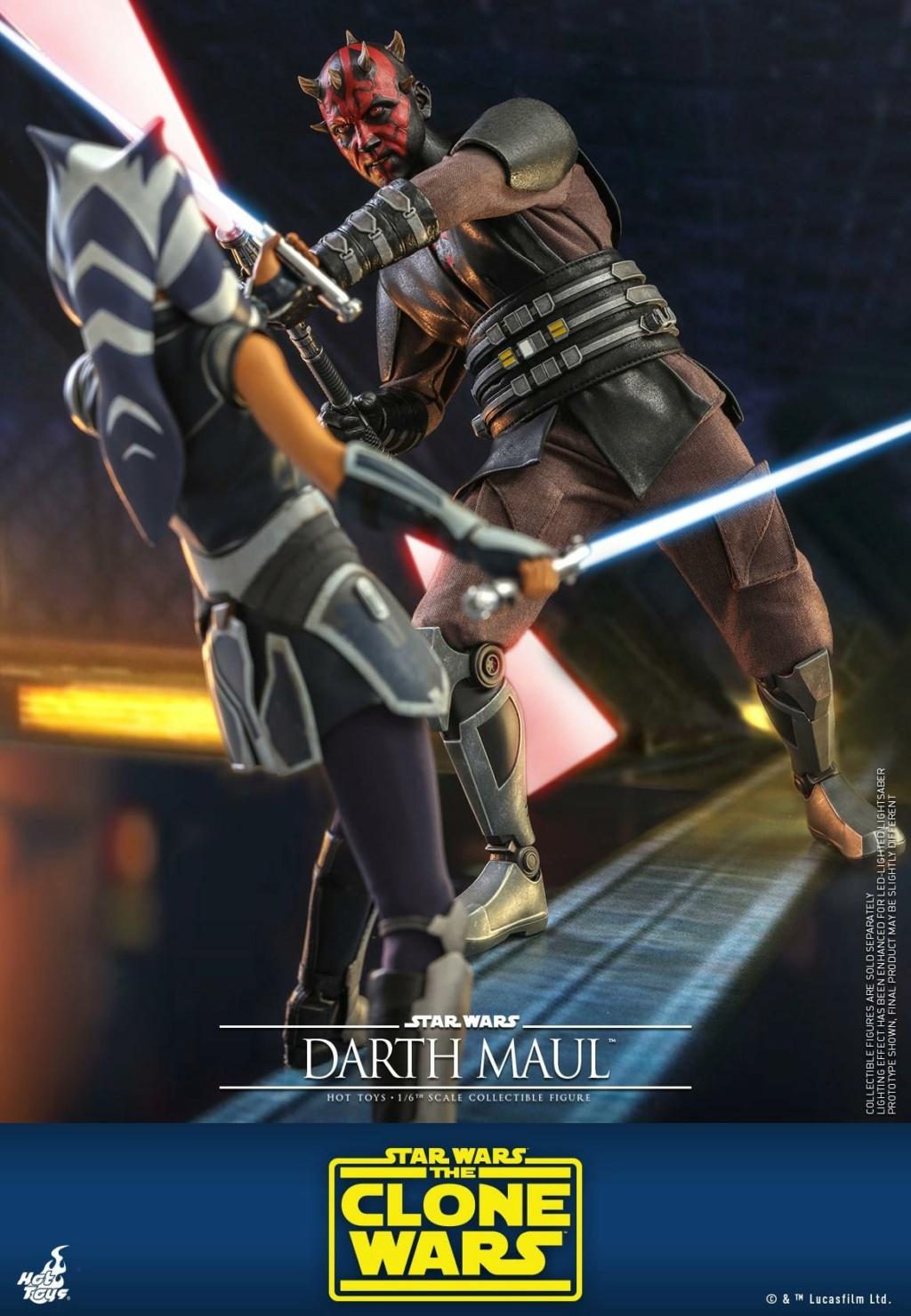 Darth Maul 1/6th scale Figure - The Clone Wars - Hot Toys Dm_tcw21