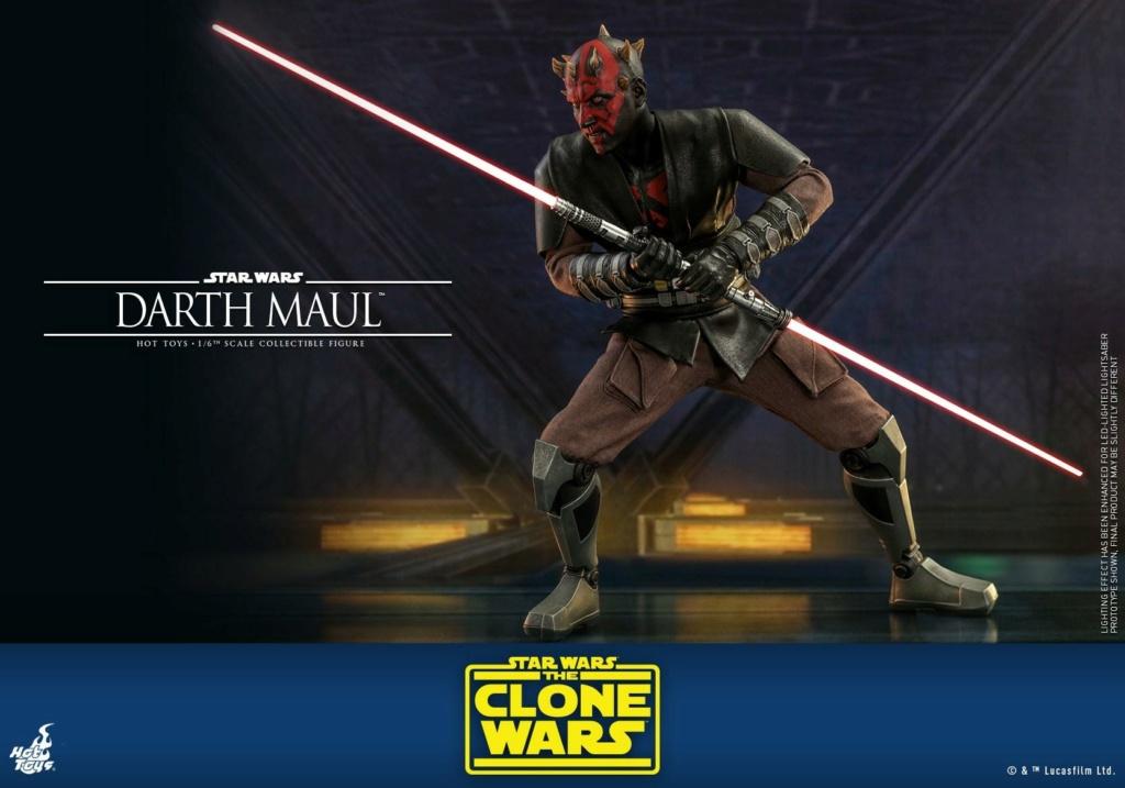 Darth Maul 1/6th scale Figure - The Clone Wars - Hot Toys Dm_tcw22
