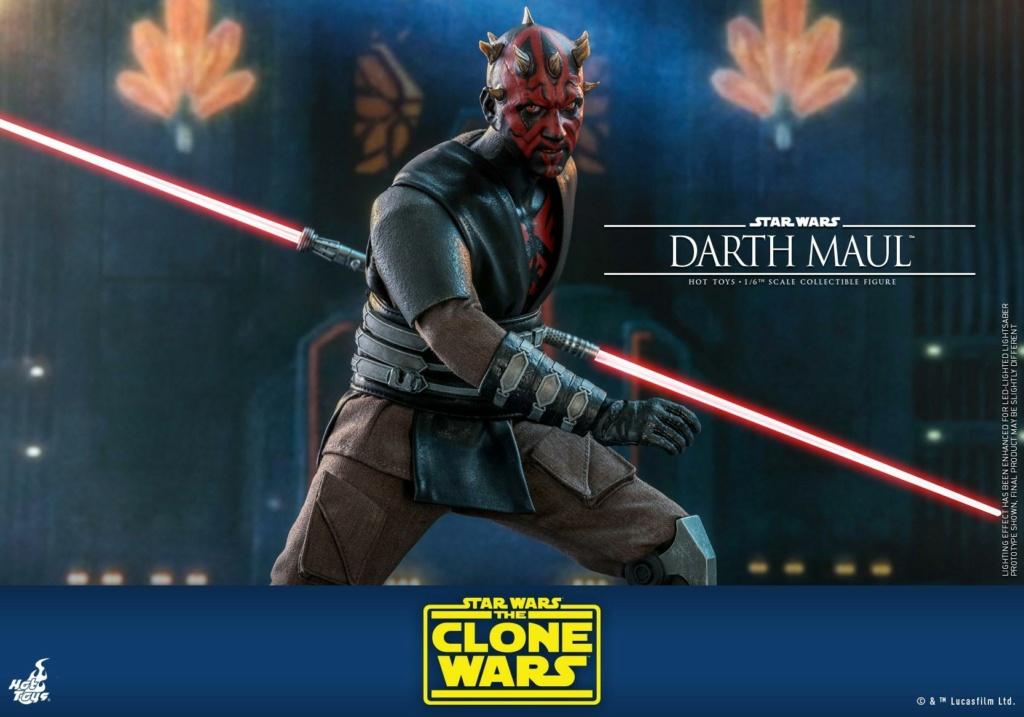 Darth Maul 1/6th scale Figure - The Clone Wars - Hot Toys Dm_tcw23