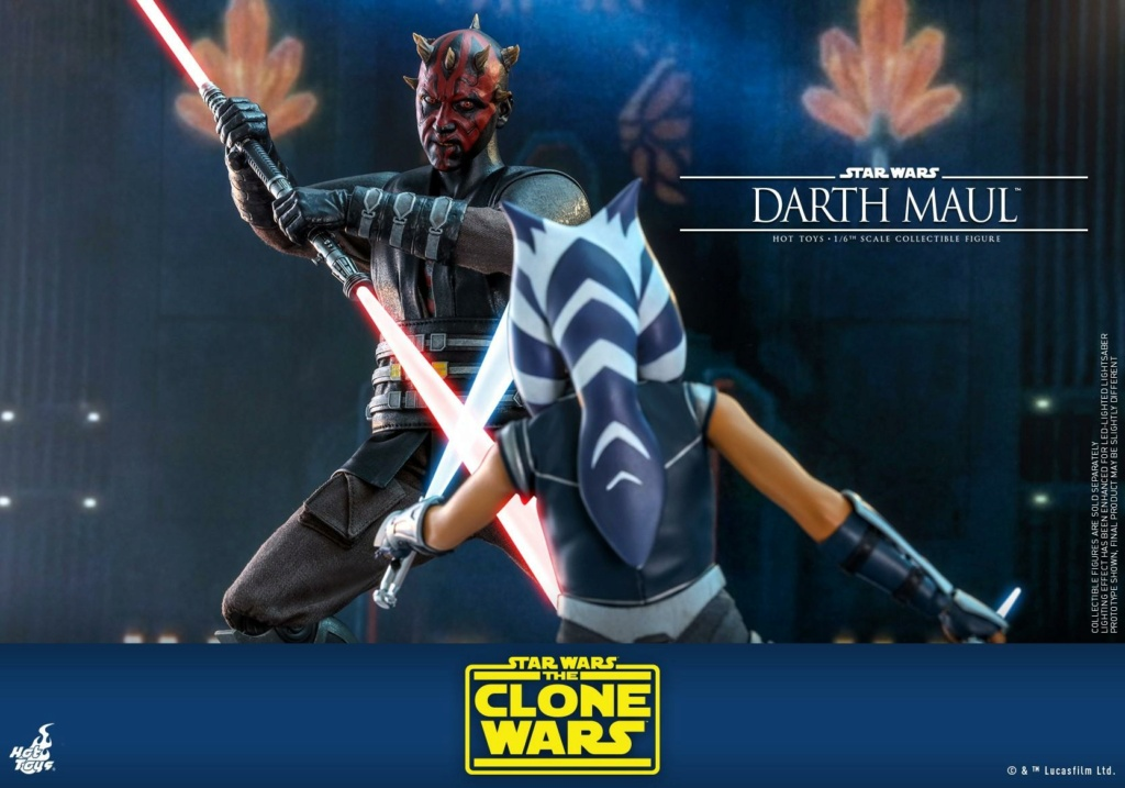 Darth Maul 1/6th scale Figure - The Clone Wars - Hot Toys Dm_tcw25