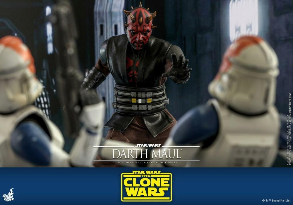 Darth Maul 1/6th scale Figure - The Clone Wars - Hot Toys Dm_tcw26