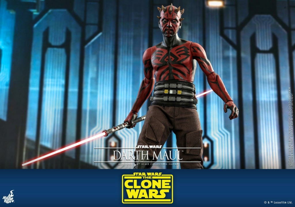 Darth Maul 1/6th scale Figure - The Clone Wars - Hot Toys Dm_tcw28