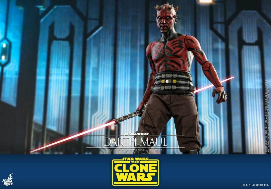 Darth Maul 1/6th scale Figure - The Clone Wars - Hot Toys Dm_tcw29