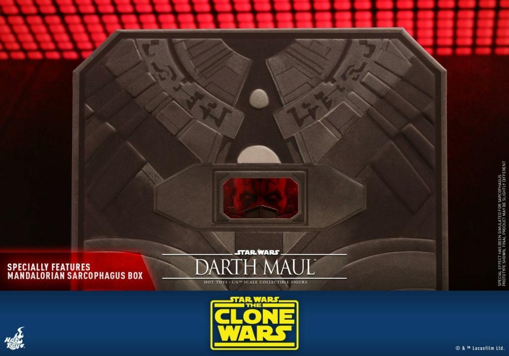 Darth Maul 1/6th scale Figure - The Clone Wars - Hot Toys Dm_tcw30