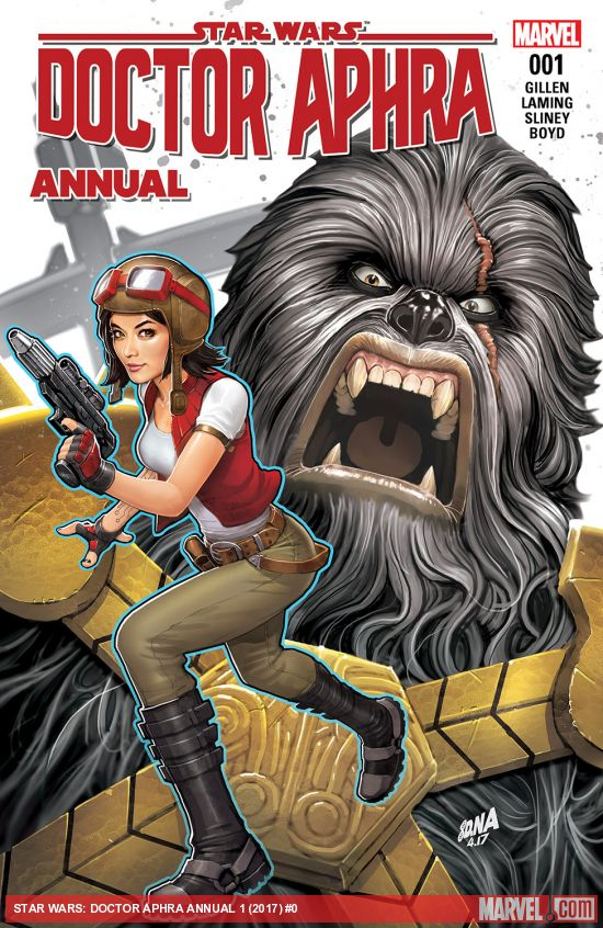 MARVEL - STAR WARS: DOCTOR APHRA ANNUAL Doctor10