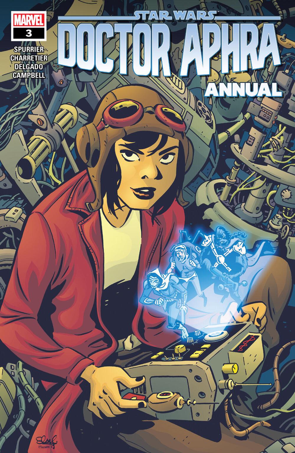 MARVEL - STAR WARS: DOCTOR APHRA ANNUAL Doctor35