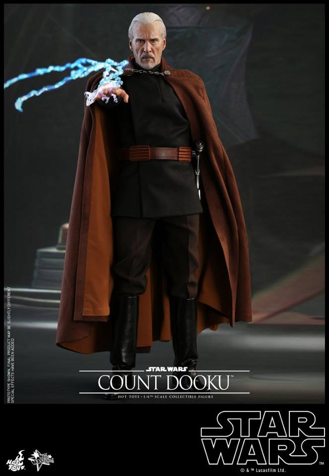 Hot Toys - SW EP 2 - 1/6th scale Count Dooku Collectible Fig Dooku_10