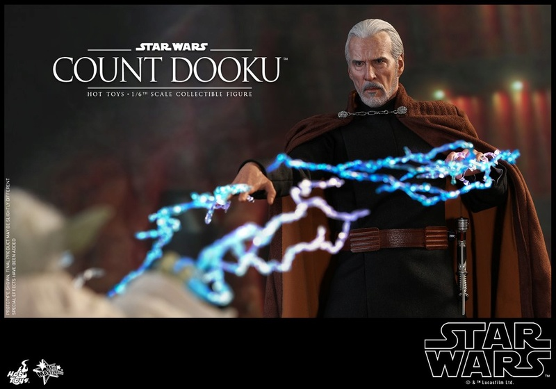 Hot Toys - SW EP 2 - 1/6th scale Count Dooku Collectible Fig Dooku_18