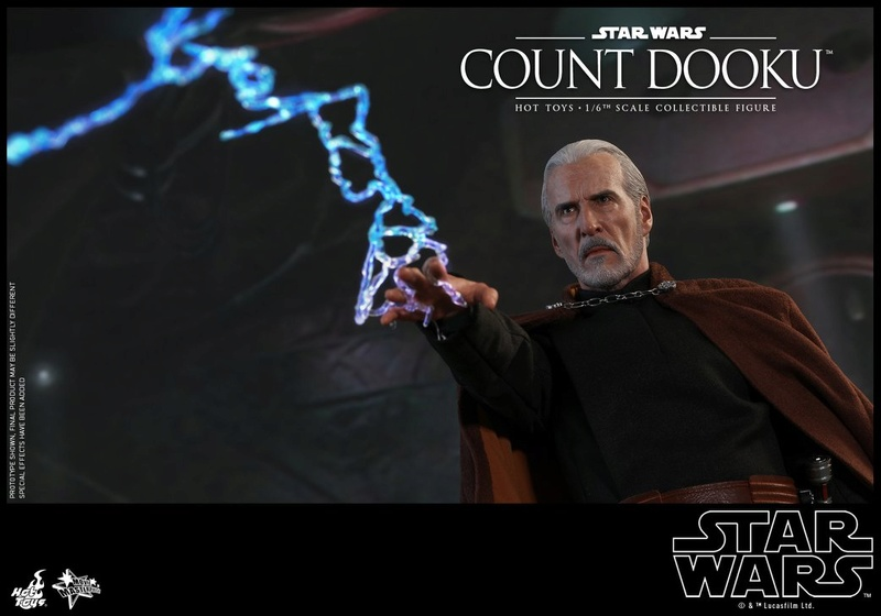 Hot Toys - SW EP 2 - 1/6th scale Count Dooku Collectible Fig Dooku_19