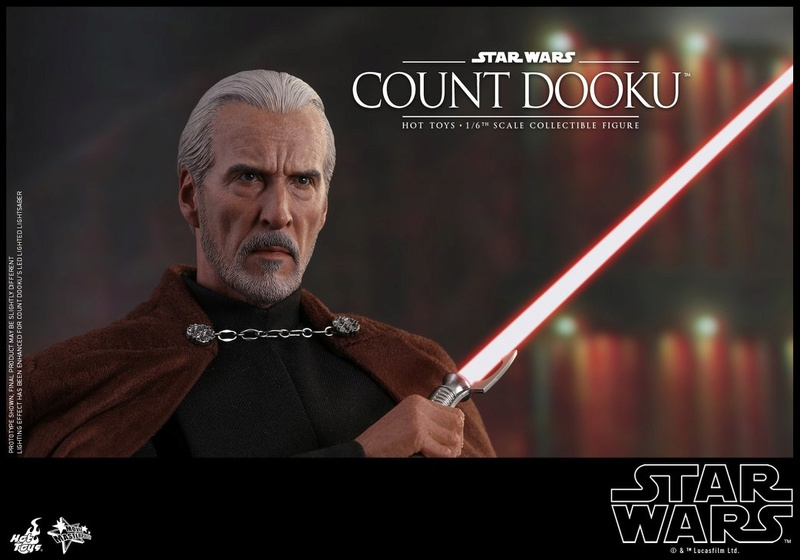 Hot Toys - SW EP 2 - 1/6th scale Count Dooku Collectible Fig Dooku_22