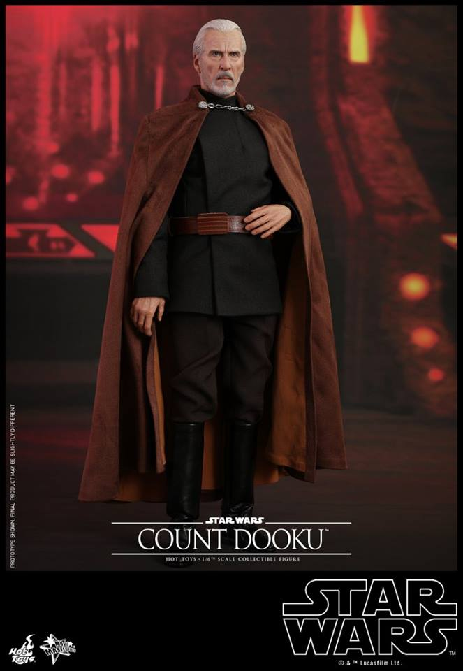 Hot Toys - SW EP 2 - 1/6th scale Count Dooku Collectible Fig Dooku_28