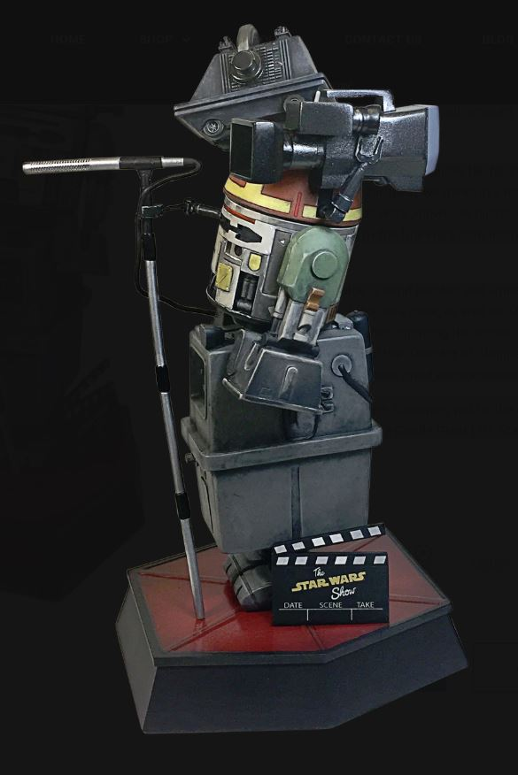 Gentle Giant - The Star Wars Show Commemorative Statuette Droid_11