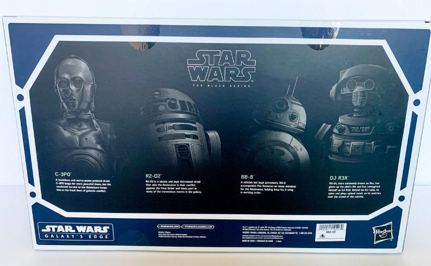 Les produits dérivés Star Wars Galaxy's Edge  Droid_13