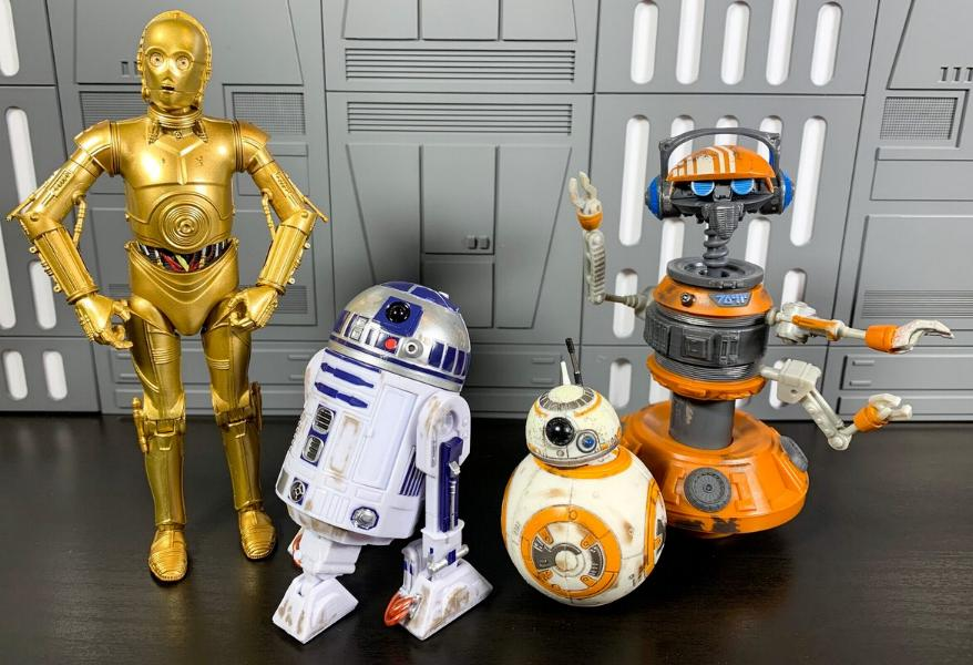Les produits dérivés Star Wars Galaxy's Edge  Droid_14