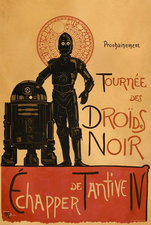 Droides Noir - Star Wars - Dark Ink Droide10