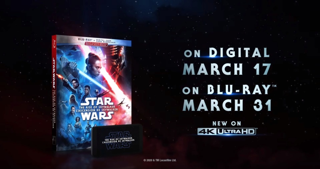 Coffret complet de la saga Star Wars en Blu-ray/4K UHD Dvd_us10