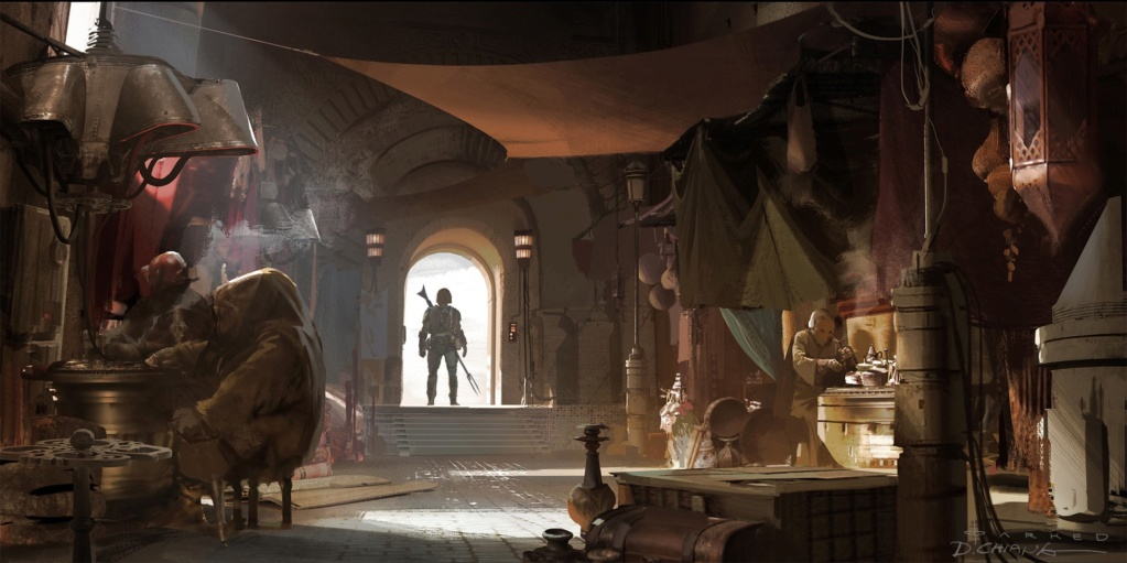 Star Wars The Mandalorian - Les Concepts Art de la saison 1 E01-0410