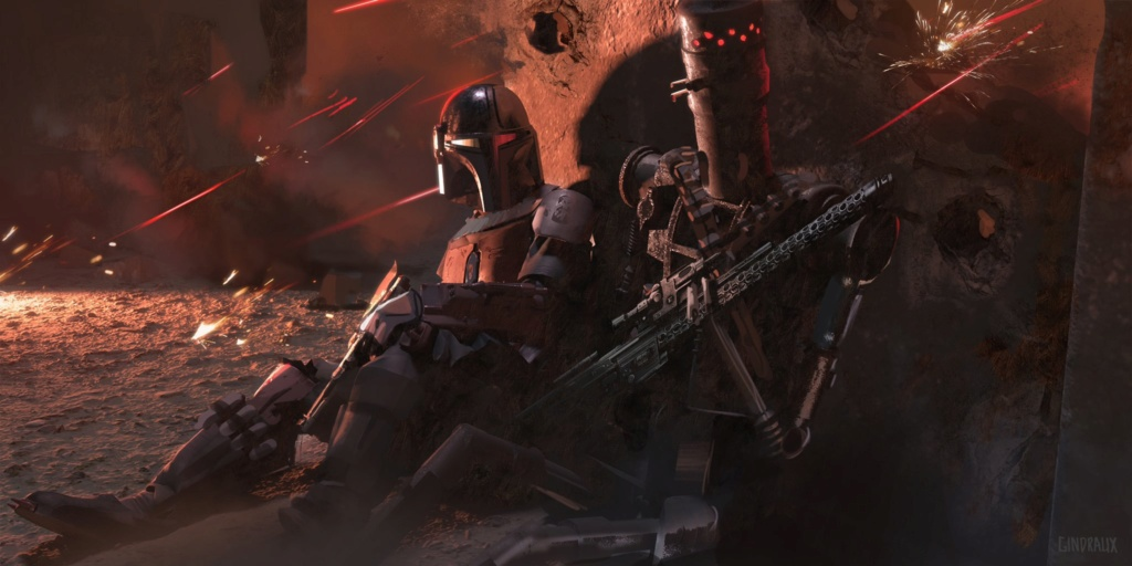 Star Wars The Mandalorian - Les Concepts Art de la saison 1 E01-0510