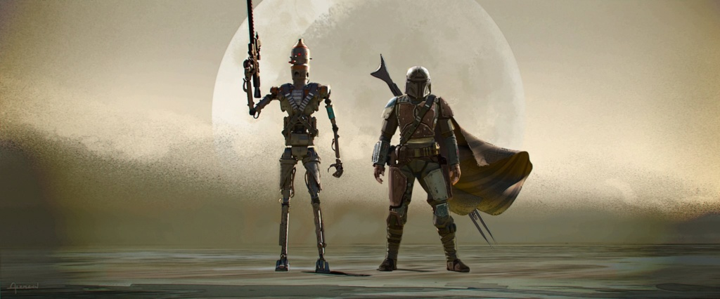 Star Wars The Mandalorian - Les Concepts Art de la saison 1 E01-1010