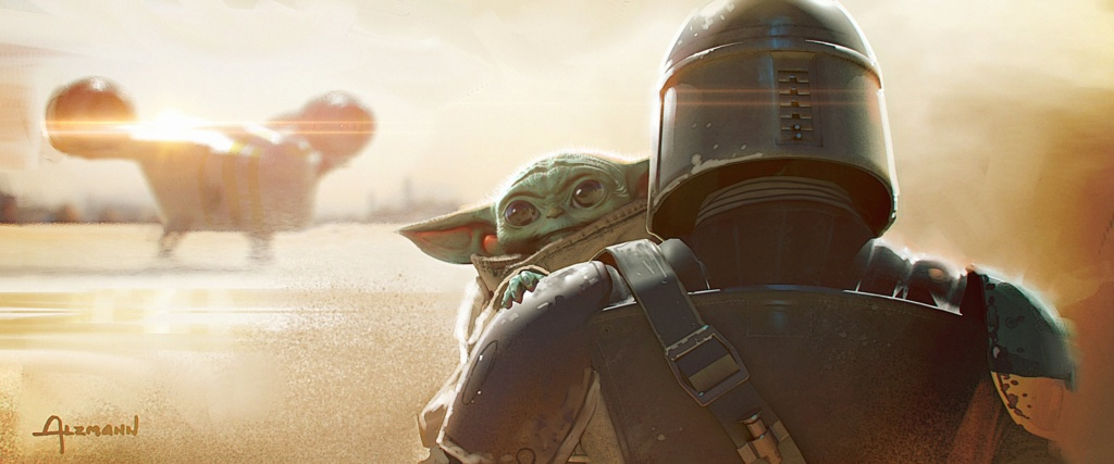 Star Wars The Mandalorian - Les Concepts Art de la saison 1 E02-0110