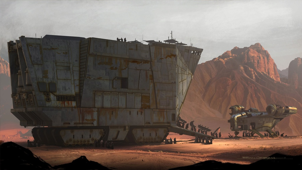 Star Wars The Mandalorian - Les Concepts Art de la saison 1 E02-0310