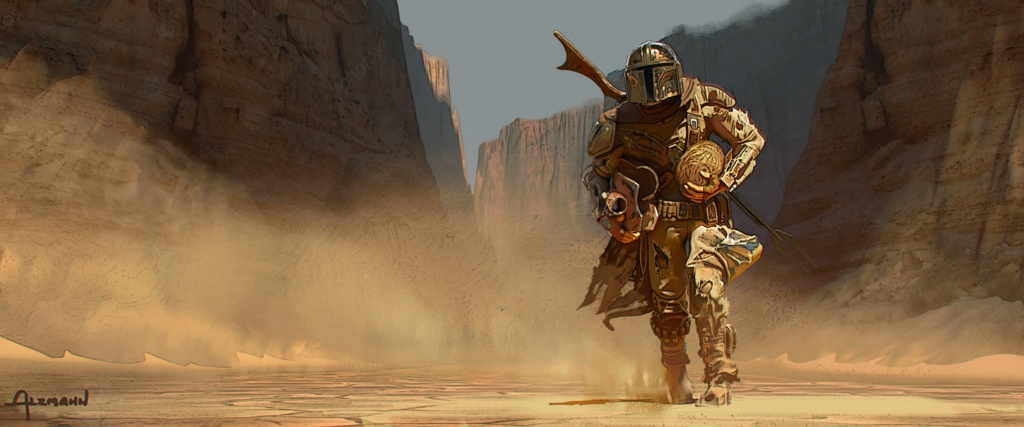 Star Wars The Mandalorian - Les Concepts Art de la saison 1 E02-0410