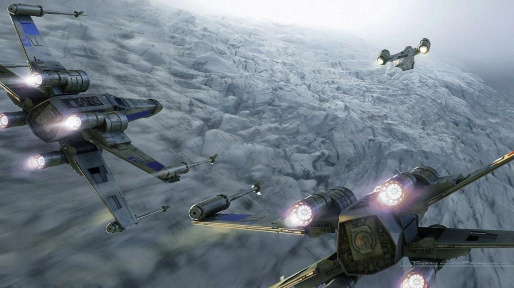 Star Wars The Mandalorian - Les Concepts Art de la saison 2 E02_0210
