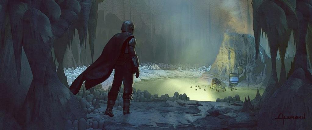 Star Wars The Mandalorian - Les Concepts Art de la saison 2 E02_0310