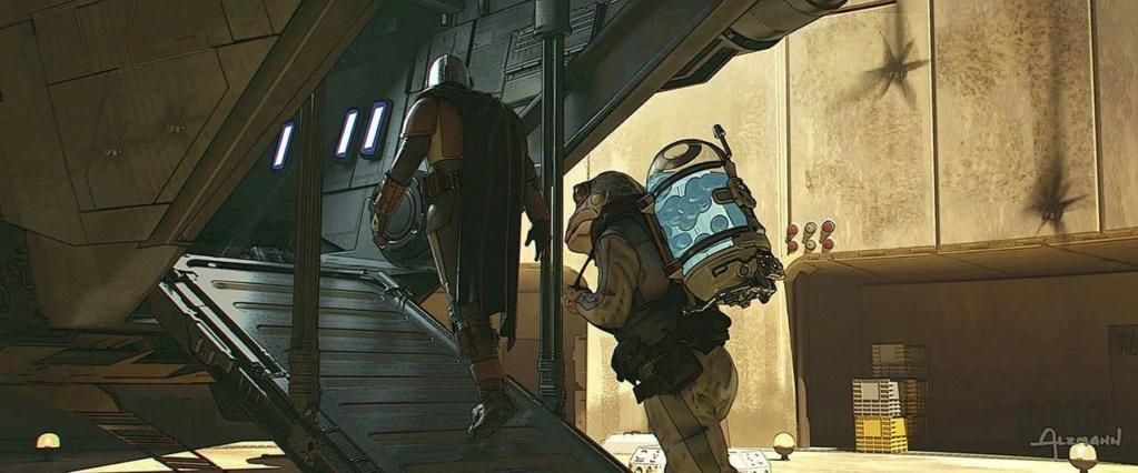 Star Wars The Mandalorian - Les Concepts Art de la saison 2 E02_0510