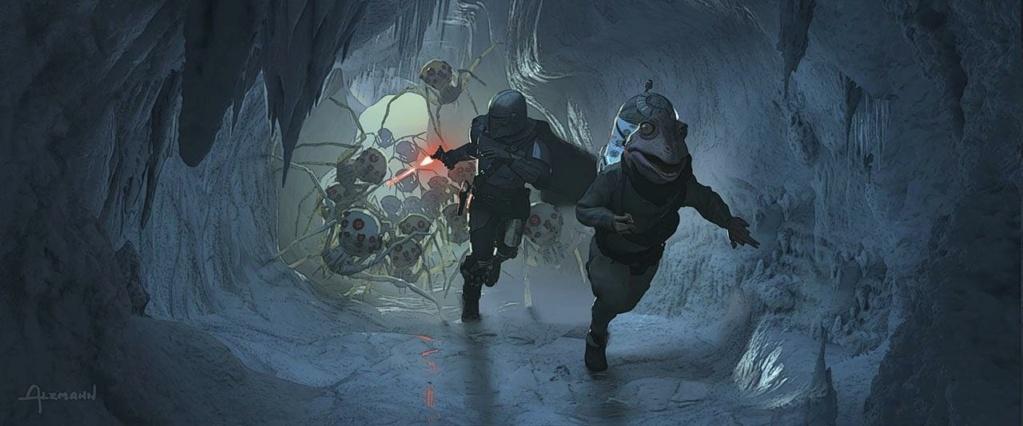 Star Wars The Mandalorian - Les Concepts Art de la saison 2 E02_0710