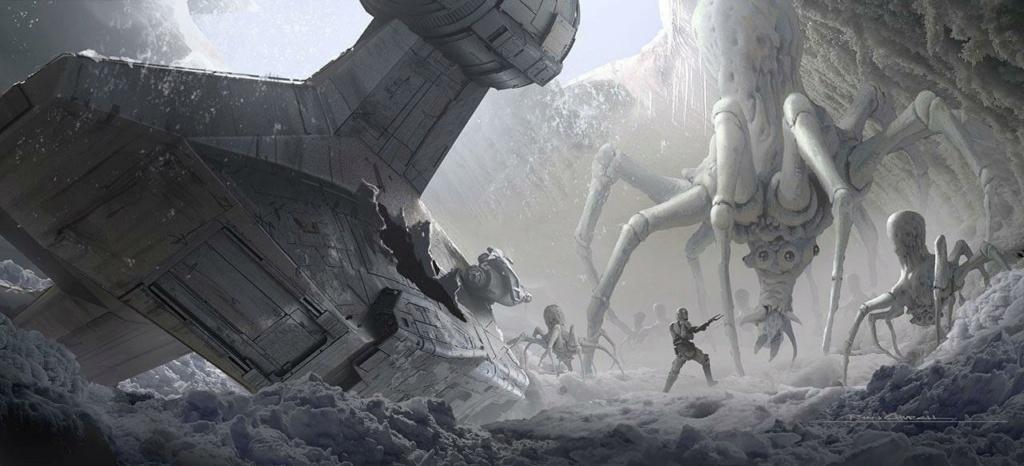 Star Wars The Mandalorian - Les Concepts Art de la saison 2 E02_0810