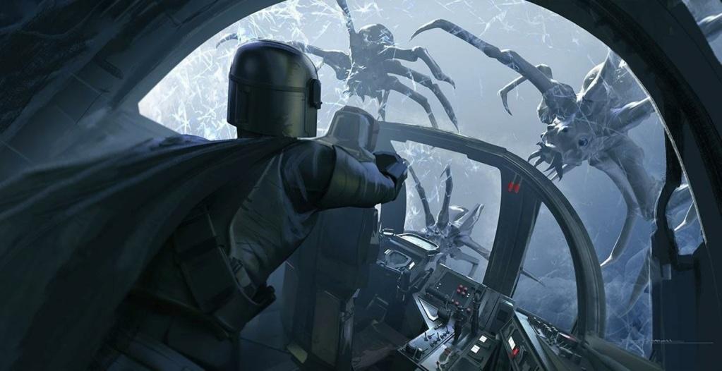 Star Wars The Mandalorian - Les Concepts Art de la saison 2 E02_0910