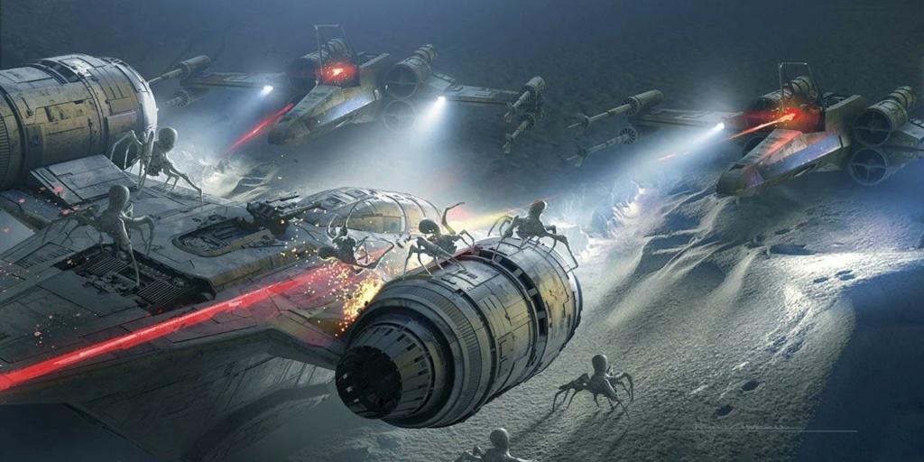 Star Wars The Mandalorian - Les Concepts Art de la saison 2 E02_1010