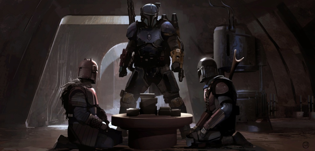 Star Wars The Mandalorian - Les Concepts Art de la saison 1 E03-0110